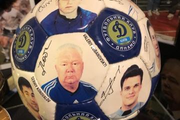 Ukrainian ambassador visits private football museum in Kuwait