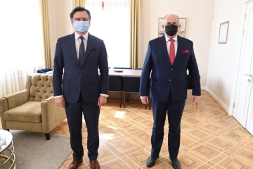 Foreign ministers of Ukraine and Poland discuss Russia's escalating aggression