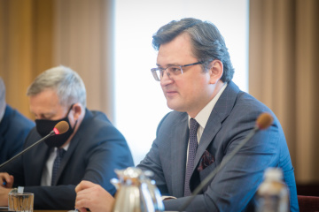 Blinken-Besuch kann zu gewisser Deeskalation führen - Außenminister Kuleba