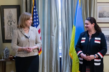 Kvien meets with Markarova before her departure for Washington