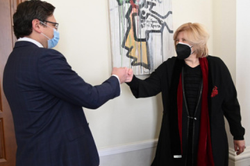 Kuleba, Mijatović discuss protection of human rights in temporarily occupied territories