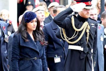 Принц Гарри и Меган Маркл почтили память принца Филиппа