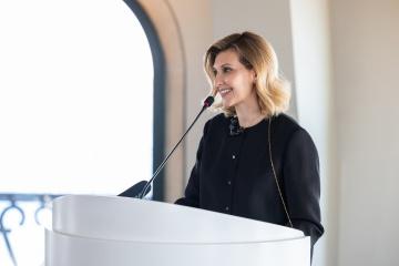 Olena Zelenska: Algunos invitados a la Cumbre de Primeras Damas y Caballeros asistirán de forma telemática