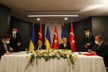 ЗСТ и самолетостроение: Зеленский и Эрдоган обсудили экономическое сотрудничество