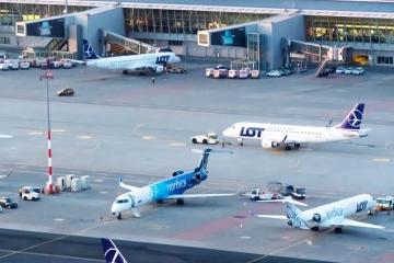 В Варшаве искали взрывчатку на самолете из Киева