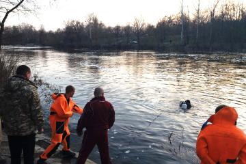 В Полтаве на реке перевернулась лодка, есть погибшие