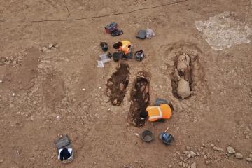 На Корсике нашли позднеримские захоронения в амфорах