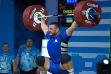 Ucrania encabeza el medallero del Campeonato Europeo de Halterofilia