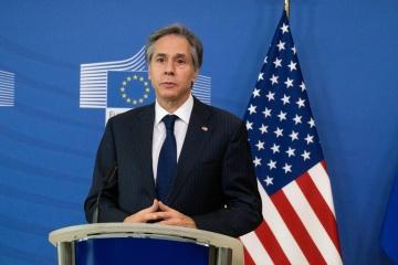 Blinken : Les trente membres de l'OTAN ont condamné l'intensification de l'agression de la Russie contre l'Ukraine