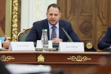 Jermak uważa, że Stany Zjednoczone powinny rozmieścić rakiety Patriot na terytorium Ukrainy