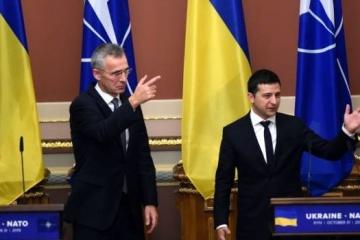 NATOはウクライナによる加盟申請権を支持している=NATO事務総長