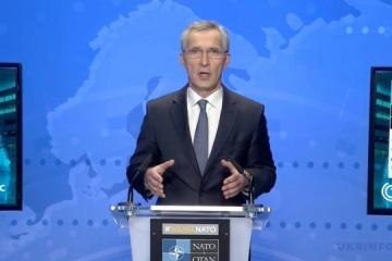 Stoltenberg: La OTAN respalda el derecho de Ucrania a solicitar la membresía en la Alianza