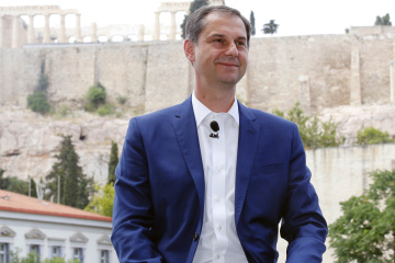Harry Theocharis, Minister of Tourism of Greece