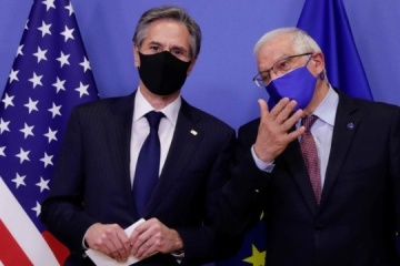 US, EU express common concern over Russia's troops on border with Ukraine