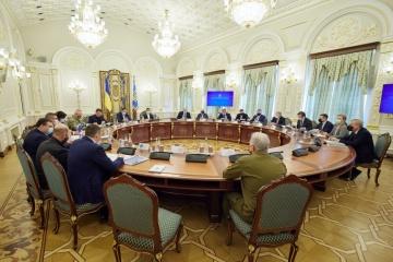 Le CSND approuve le Plan de défense de l'Ukraine
