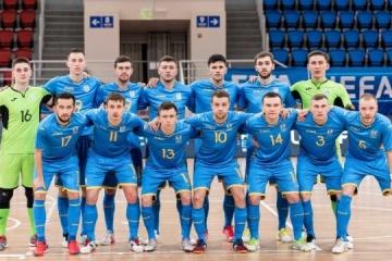 Сборная Украины по футзалу поднялась на девятое место рейтинга УЕФА