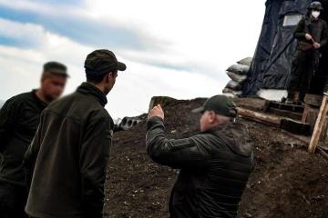 В зоне ООС проверили боевую готовность нацгвардийцев