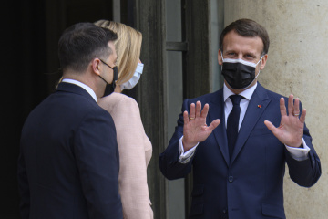Macron señala una dinámica positiva en las relaciones entre Ucrania y Francia