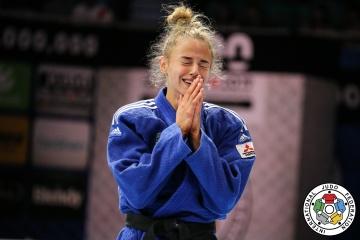 Daria Bilodid gana la plata del Campeonato Europeo de Judo en Portugal