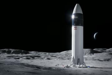 SpaceХ получила контракт от NASA на отправку астронавтов на Луну в 2024 году