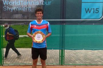 Українець Ваншельбойм виграв турнір ITF в Шимкенті