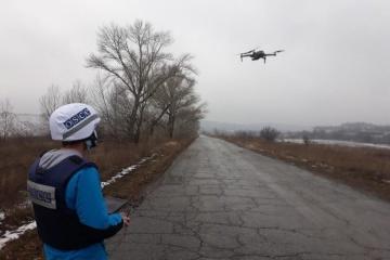 ロシア占領軍によるOSCE監視団無人機へのジャミング急増 1週間に50回強=宇参謀本部