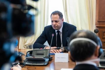 Yermak: Las autoridades reaccionarán con dureza ante cualquier manifestación de antisemitismo