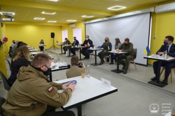 Parlamentarzyści z Polski i Litwy odwiedzili Mariupol