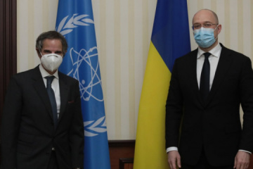 Ukrainian PM, IAEA Director General discuss issues of nuclear safety