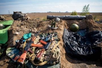 4月27日の露占領軍停戦違反11回、宇軍人1名死亡、4名負傷=統一部隊