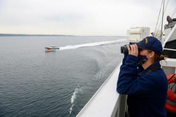 U.S. Cutter Hamilton enters Black Sea