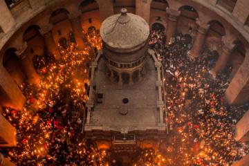2.500 creyentes asistirán a la ceremonia de la Luz Sagrada por la pandemia