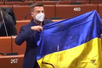 Ukraińska delegacja w PACE zareagowała na sankcje wobec Honczarenki