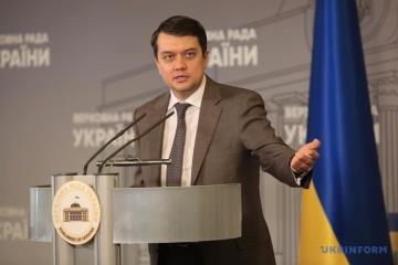 Die Ukraine schätzt Position Georgiens zu vorläufig besetzten Gebieten und der Krim - Rasumkow