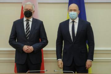 Schmyhal erörtert mit stellvertretendem Premierminister Polens Impfungen und Zollreform