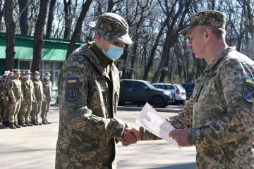 Im OVK-Raum ukrainische Soldaten ausgezeichnet