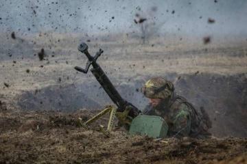 5月6日の露占領軍停戦違反16回、宇軍人2名死亡、1名負傷=統一部隊
