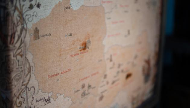 Локації онлайн-прогулянки володіннями князів Острозьких нанесли на мапу