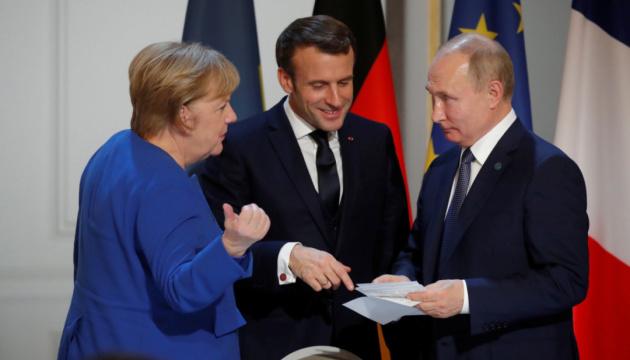 Тест на суб'єктність: про що говорили з Путіним лідери Німеччини й Франції?