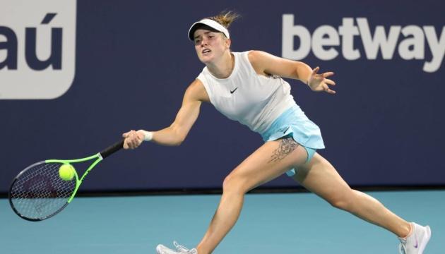 WTA-Turnier in Miami: Svitolina verliert im Halbfinale gegen Barty