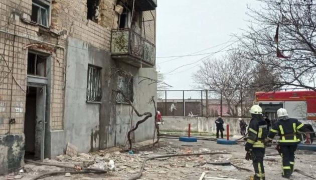 В Одессе в результате взрыва произошел пожар, четверо пострадавших