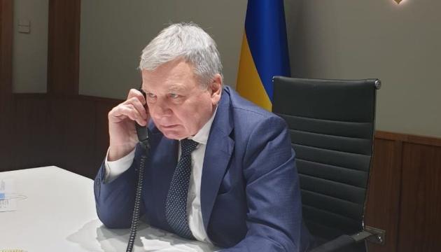 Agresión rusa: Tarán y Wallace discuten la situación en las fronteras de Ucrania