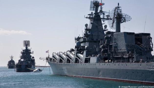 Россия вывела в море весь состав Черноморского флота «посмотреть» Sea Breeze - разведка