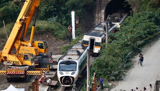 Тайваньський суд випустив під заставу ймовірного винуватця аварії потяга