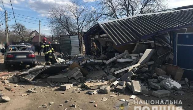 В Соломенском районе столицы прогремел взрыв
