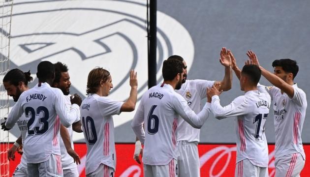 «Реал» обіграв «Ейбар» і вийшов на друге місце Ла Ліги