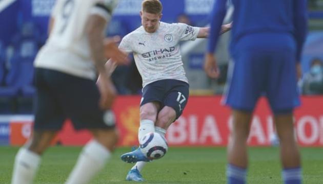 АПЛ: «Манчестер Сити» обыграл «Лестер»