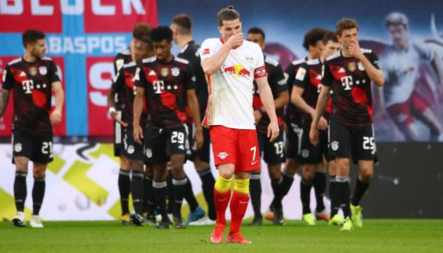 «Баварія» перемогла «РБ Лейпциг» і зміцнила лідерство в Бундеслізі