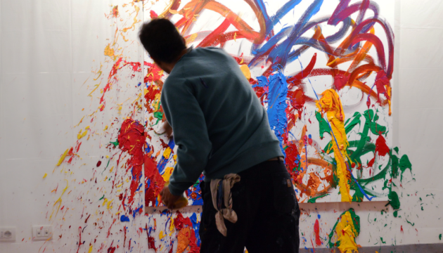 Відвідувачі виставки помилково домалювали графіті за $400 тисяч