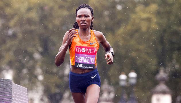 Кенійська бігунка побила світовий рекорд у напівмарафоні
